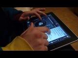 Как Мавджуд с планшетом играется:)